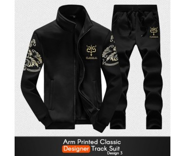 Arm Printed Classic Designer Track Suit Design 3