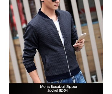 Mens Baseball Zipper Jacket BZ-04