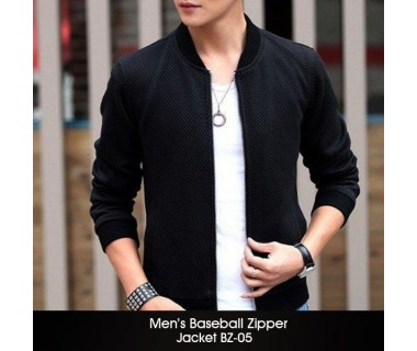 Mens Baseball Zipper Jacket BZ-05