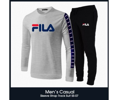 Mens Casual Sleeve Strap Track Suit SS-07