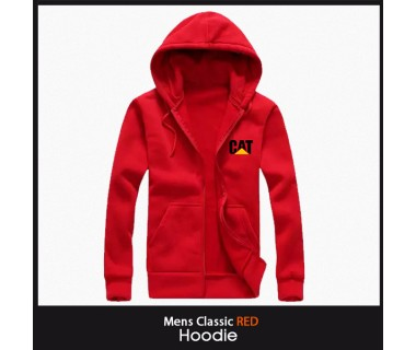 Mens Classic Red Hoodie