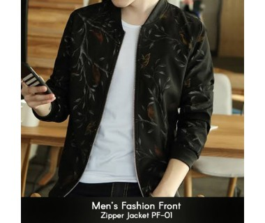Mens Fashion Front Zipper Jacket PF-01