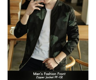 Mens Fashion Front Zipper Jacket PF-02