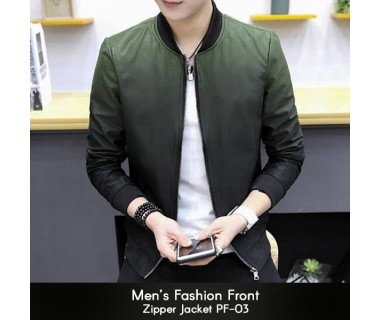 Mens Fashion Front Zipper Jacket PF-03