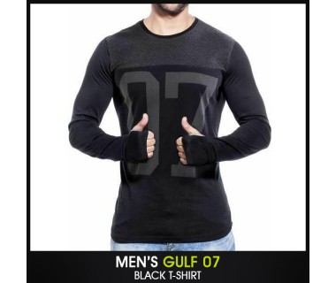 Mens Gulf 07 Black T-shirt