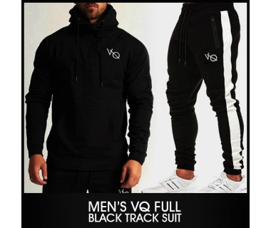 Mens VQ Full Black Track Suit