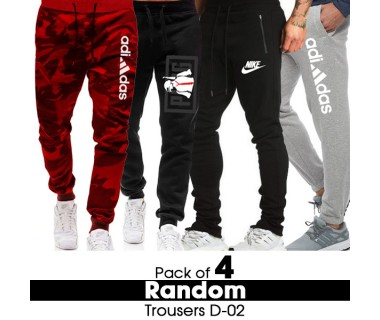 Pack of 4 Random Trousers D-02