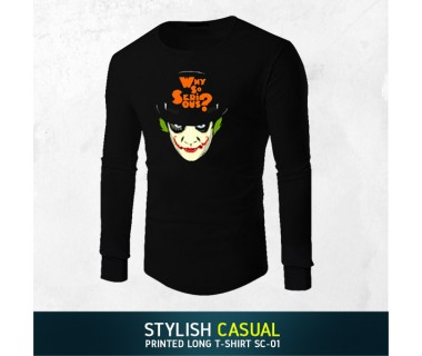 Stylish Casual Printed Long T-shirt SC-01