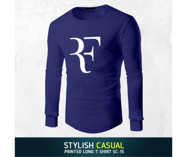 Stylish Casual Printed Long T-shirt SC-15