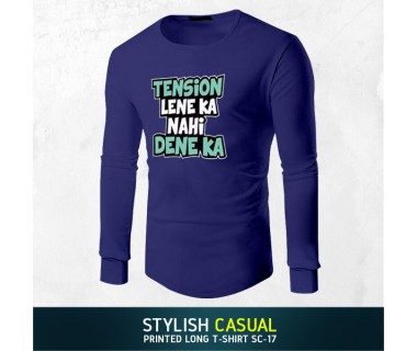 Stylish Casual Printed Long T-shirt SC-17