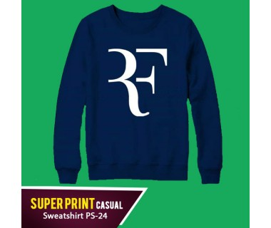 Super Print Casual Sweatshirt PS-24