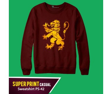Super Print Casual Sweatshirt PS-42