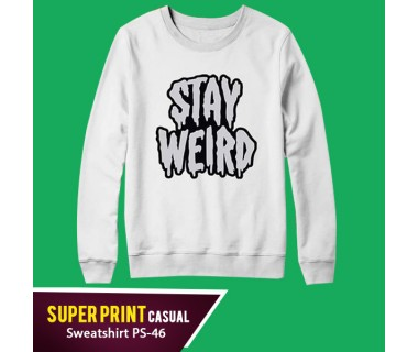 Super Print Casual Sweatshirt PS-46