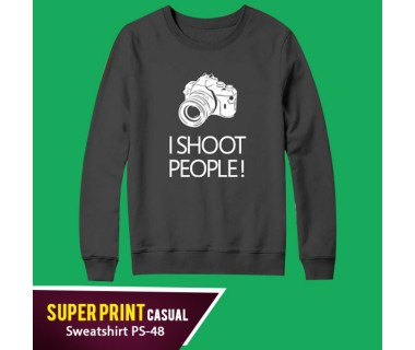 Super Print Casual Sweatshirt PS-48