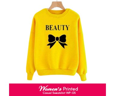 Womens Printed Casual Sweatshirt WP-05